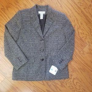 10p tweed Blazer NWT